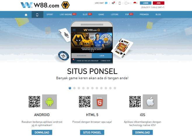 Cara menginstal Aplikasi Mobile W88 di ponsel Anda image 3